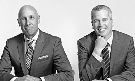 Managing Partner Michael Peerless and Associate Managing Partner Matthew Villeneuve